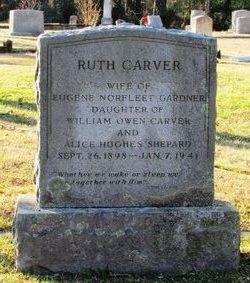 Ruth <I>Carver</I> Gardner