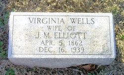 Virginia Ashby <I>Wells</I> Elliott