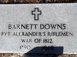 """Barnett """"Barney"""" Downs"""