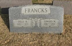 """Dolly M. """"Dorothy"""" <I>Patton</I> Francks"""