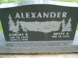 Betty E. <I>Voeller</I> Alexander