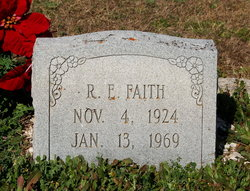R E Faith