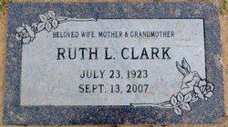 Ruth L <I>Lawrence</I> Clark
