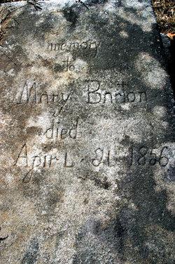 """Mary """"Polly"""" <I>Berry</I> Barton"""