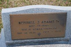 Sgt Russell J Adams, Sr