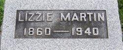 Lizzie <I>Dessenberg</I> Martin