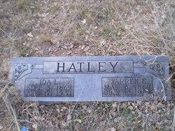Ida Louisa <I>Williams</I> Hatley