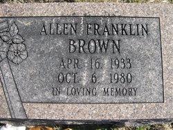 Allen Franklin Brown