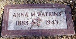 Anna Maude <I>Wood</I> Watkins
