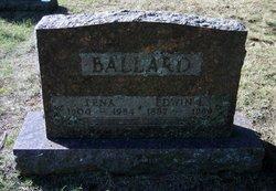 Lena E. <I>LeClair</I> Ballard