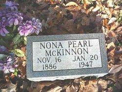 Nona Pearl <I>Reed</I> McKinnon