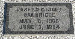 """Joseph G """"Joe"""" Baldridge"""