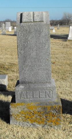Sarah A. <I>Allen</I> Allen