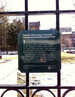 South Burying Ground