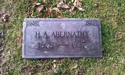 Harvey Addison Abernathy
