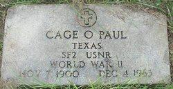Cage O. Paul