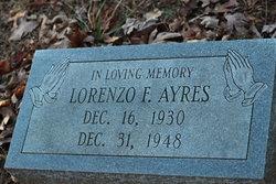 Lorenzo F Ayres