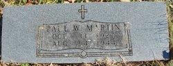 Paul W Martin