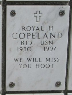 Royal H Copeland