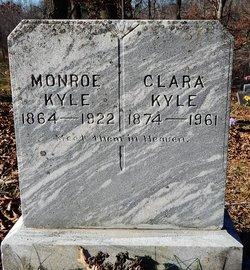 Clara May <I>Browder</I> Kyle
