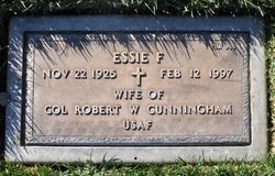 Essie F <I>Burget</I> Cunningham