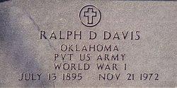 Ralph Delbert Davis