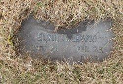 Elsie E. Davis