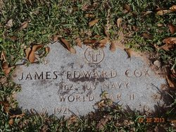 James Edward Cox, Sr