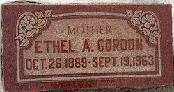 Ethel Mary <I>Aston</I> Gordon