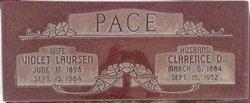Violet L [Miller] Pace