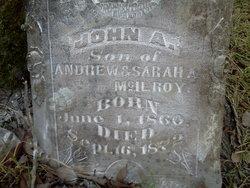 John A McIlroy