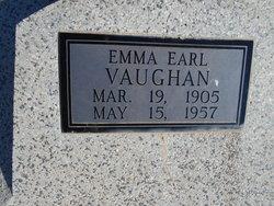 Emma Earl <I>Yancy</I> Vaughan