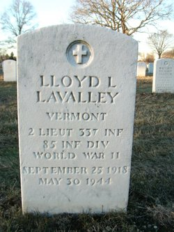 2LT Lloyd Lawrence Lavalley