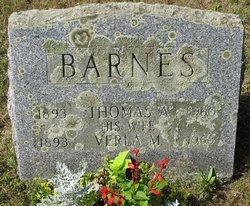Thomas A Barnes