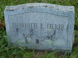 Charlotte E Becker