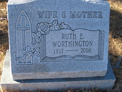 Ruth E Worthington