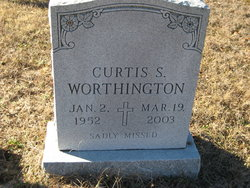 Curtis S Worthington