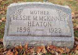 Bessie Marie <I>McKinney</I> Heaton