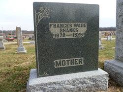 Frances <I>Clemens Wade</I> Shanks