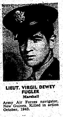 1LT Virgil Dewey Fugler Jr.