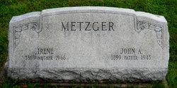 Nora Irene <I>Randall</I> Metzger