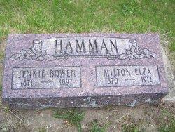Jennie <I>Bowen</I> Hamman