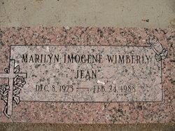 """Marilyn Imogene """"Jean"""" Wimberly"""