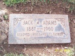 Jack Alfred. Adams