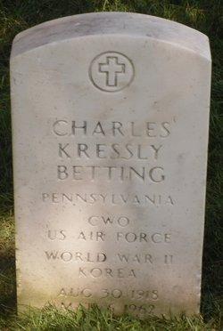 Charles Kressly Betting