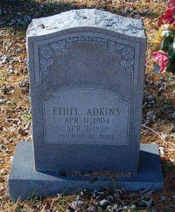 Laura Ethel <I>Hinton</I> Adkins
