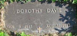 Dorothy <I>Dickey</I> Davie