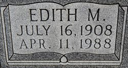 Edith Mae <I>Bastin</I> Mefford Vincent