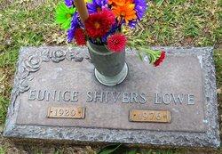 Eunice <I>Shivers</I> Lowe