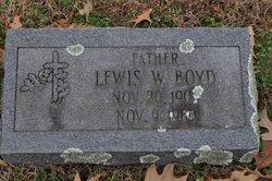 Lewis Wesley Boyd